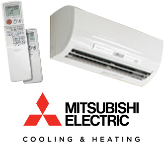 Ductless Heating And Cooling Systems From Mitsubishi Electric
